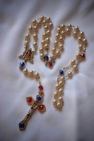 divine mercy chaplet rosary - Google Search