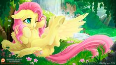 mlp art,my little pony,Мой маленький пони,фэндомы,Fluttershy,Флаттершай,mane 6