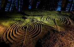 Neolithic carvings of concentric circles, interlocking rings and hollowed cups of the Goddess were uncovered as part of a four-year English Heritage-funded initiative, in partnership with Northumberland and Durham County Councils Ancient Aliens, Ancient History, Art History, European History, American History, Stonehenge, Art Rupestre, Arte Tribal, Ancient Artifacts