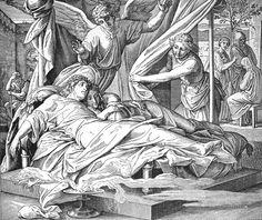 Bilder der Bibel - Errettung des Tobias - Julius Schnorr von Carolsfeld