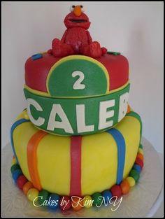 Elmo Party  Cake by cakesbykimny