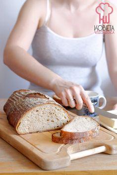 Codzienny chleb pszenno-żytni na zakwasie Banana Bread, Baking, Food, Bakken, Essen, Meals, Backen, Yemek, Sweets