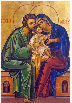 icon of the holy family | LOVE IN THE RUINS