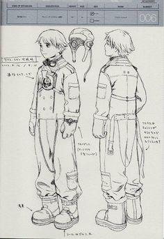 Range Murata_Last Exile (Klaus) Character Concept