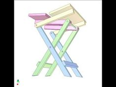 Folding table 4 - YouTube