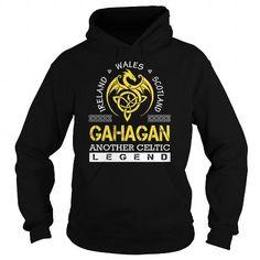 Awesome Tee GAHAGAN Legend - GAHAGAN Last Name, Surname T-Shirt T shirts