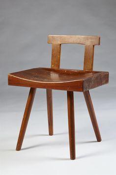 Chair, designed by Bengt Lundgren, Sweden. 1950s.