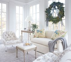 White Christmas: Lovely Virginia Home | Traditional Home