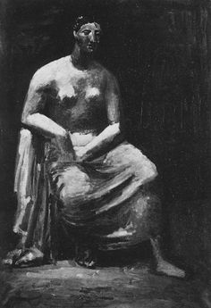 """Pablo Picasso - """"Woman in an armchair"""", 1922"""