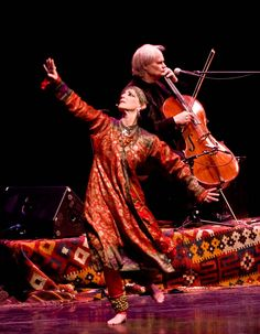Zuleikha, left, and David Darling will perform in the Storydancer Project's Rumi Concert.