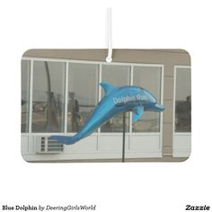 Blue Dolphin Car Air Freshener