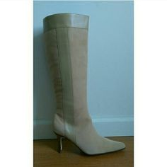 Terry Lewis high shaft boots Brand new Terry Lewis high shaft boots. Material: suede and leather. Color: sand (light brown). I have this color in sizes: 6 M, 6.5 M, and 7.5 M. Terry Lewis Shoes Heeled Boots