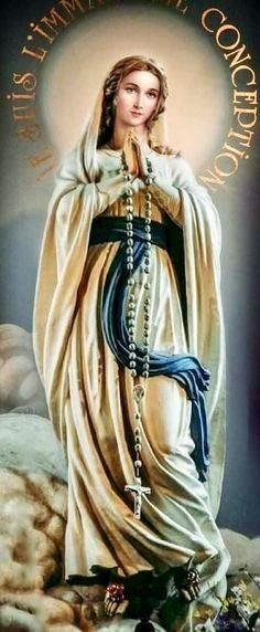 Blessed Mother Mary, Divine Mother, Blessed Virgin Mary, Mother Mary Images, Images Of Mary, Religious Pictures, Jesus Pictures, Madonna, Hail Holy Queen