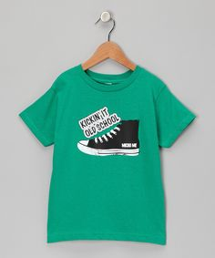 Kelly 'Kickin' It Old School' Tee  from Micro Me on #zulily #cutiestyle