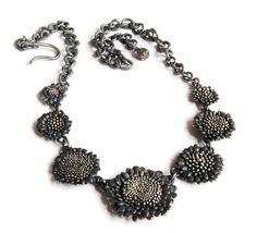 Nora Rochel  Necklace  Fair trade 925 silver, blackened