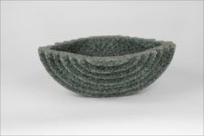 Carl van Hees - Equilibrio - lancio - B x L x D  in cm: 36 x 12 x 32,5 - glaskunst, szklo artystyczne, glassart