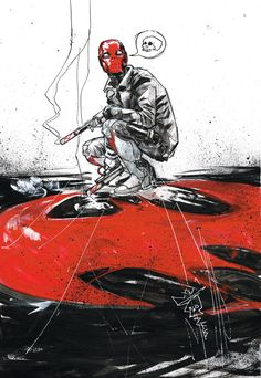 Red Hood by Riley Rossmo