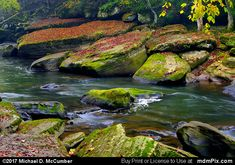 Slippery Rock Creek Picture 032 - October 7, 2017 from McConnells Mill State Park, Pennsylvania Picture