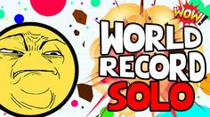 Mitosis the Game - New World Record Solo - Destroying Teams - Agario 2.0