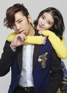 """Jang Keun Suk ♡ #Kdrama with IU - Poster For """"Pretty Boy"""""""