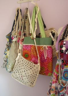 Handmade Bags comme d' habitude