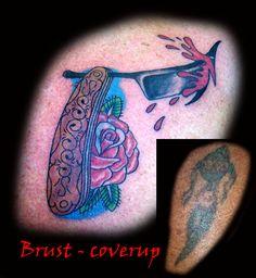 tattoo, traditional, oldschool rasiermesser