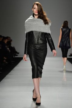 Line Knitwear Fall 2014 - Look 11 #WMCFW