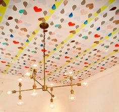 love this with the fun ceiling:)