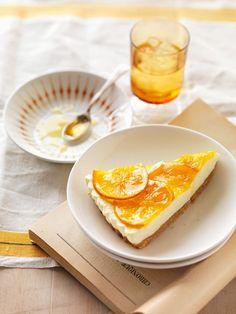 Orange-Cheesecake - der ist einfach `ne Wucht! Hier gehts zum Rezept…