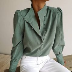 Tops for Women - Shop Long or Short Blouses & Shirts Work Wear Office, Casual Work Wear, Stylish Shirts, Casual Shirts, Pulls, Blouses For Women, Cheap Blouses, Blouse Designs, Shirt Blouses