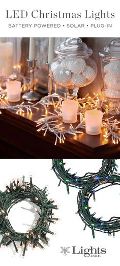Glittering lit decor to bring stylish holiday cheer to your home