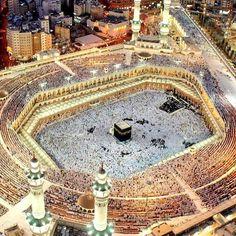 صورة و لا أروع الى قبلة المسلمين