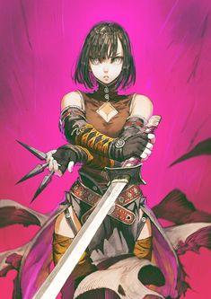 Female Character Design, Character Design Inspiration, Character Concept, Character Art, Concept Art, Manga Drawing, Manga Art, Anime Fantasy, Fantasy Art