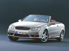 Mercedes-Benz CLK 500 cabriolet.