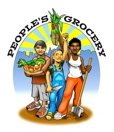 The People's Grocery links gardening, nutrition education, and after-school learning in this low-income school district.