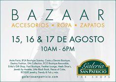 Bazaar @ Galería San Patricio #sondeaquipr #bazaar #galeriasanpatricio #guaynabo