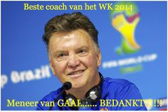 Thanks Louis van Gaal!