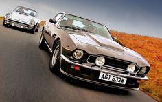 Porsche 911 1980 x Aston Martin v8 Vantage 1985