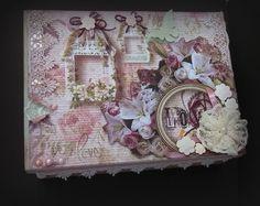 Caixa para Noiva em Scrapbook