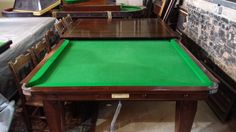 Padmore 9ft snooker dining table./ Dual purpose Boardroom Table