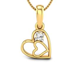 If your relationship is dragging along, you need to give a break to your approach and thinking and upgrade your love quotient. Be a man, gift her a diamond, at least this Valentine's! #ValentineJewellery #DiamondPendant #LovelyJewellery #Sweetheart #PrettyJewellery #HeartPendant #LovePendant #ProposalPendant