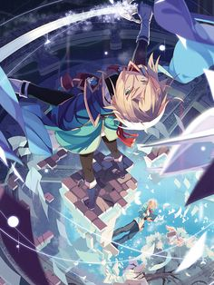 Blazblue - Blizzard Poster