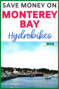 Have fun admiring the sights of Monterey Bay while on a hydrobike! This is a fun, healthy Vacation Deals, Travel Deals, Herons, Monterey Bay, Free Things To Do, Ways To Travel, Getting Wet, California Travel, Otters