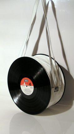 sac disque vinyl