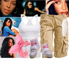 """""""[ r.i.p. Aaaliyah]"""" by feeltheharmony ❤ liked on Polyvore"""