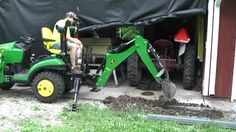 12 best my new tractor tips tricks info images on pinterest the john deere 1025r was a perfect fit for brians drainage project compact nimble fandeluxe Image collections