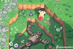 Just changed my island to be Ghibli themed! : AnimalCrossing Animal Crossing Funny, Animal Crossing Villagers, Animal Crossing Qr Codes Clothes, Animal Crossing Pocket Camp, Studio Ghibli, Robot Animal, Island Theme, Happy Home Designer, Motifs Animal
