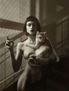 ... cats don't like smoke ...