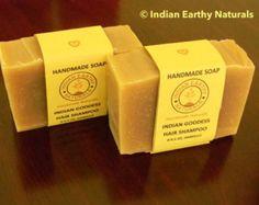 INDIAN HAIR SHAMPOO, Amla, Shikakai, Reetha, Natural Hair Shampoo with Bhringraj, Brahmi, Neem, Hibiscus, Clays, Essential Oils