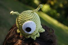 Ravelry: Crocheted Futurama Brain Slug Alien pattern by Louis Mensinger